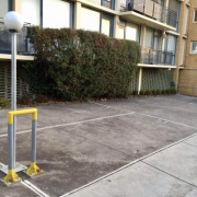 Outside parking on Park St in South Yarra