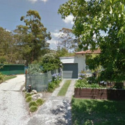 Driveway storage on Pound Avenue in Frenchs Forest