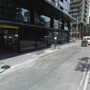 Undercover parking on Elizabeth Street in Melbourne