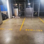 Indoor lot parking on Walker Street in Rhodes New South Wales 2138