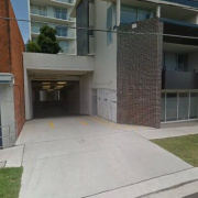 Garage parking on Northcote Street in St Leonards