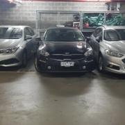 Indoor lot parking on Stanley St in Collingwood