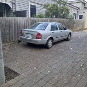 Driveway parking on Brighton St in Flemington