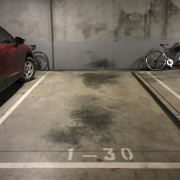 Garage parking on State Route 55 in West Melbourne