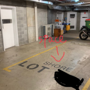 Garage storage on Chisholm Street in Wolli Creek 新南威尔士州澳大利亚