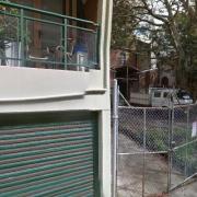 Undercover storage on Allen Street in Pyrmont