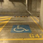 Indoor lot parking on Archibald Avenue in Waterloo