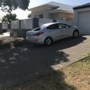 Driveway parking on Arkwell Street in Willagee Western Australia 6156