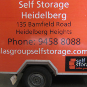 Self-storage Facility storage on Bamfield Road in Heidelberg West