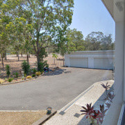 Driveway storage on Barranjoey Drive in Sunshine Acres