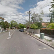 Outdoor lot parking on Berry Street in North Sydney New South Wales 2060