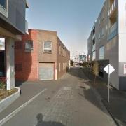 Indoor lot parking on Bik Lane in Fitzroy North