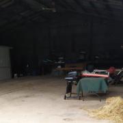Garage storage on Bonang Road in Orbost Victoria 3888