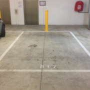 Indoor lot parking on Boundary Road in North Melbourne