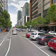 Indoor lot parking on Bourke Street in Docklands Victoria 3008