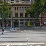 Undercover parking on Bourke Street in Melbourne Victoria 3000