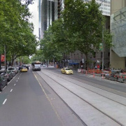 Driveway storage on Bourke Street in Melbourne