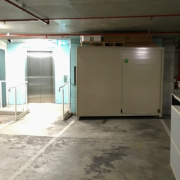 Indoor lot storage on Bourke Street in Surry Hills