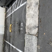 Driveway storage on Brocks Lane in Newtown