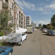 Undercover parking on Broughton St in Parramatta
