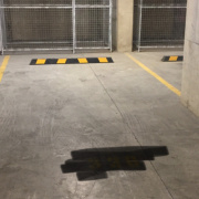 Undercover storage on Brushbox Street in Sydney Olympic Park