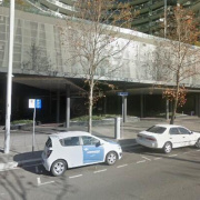 Undercover parking on Bunda St in Canberra