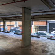 Indoor lot parking on Bunn Street in Sydney