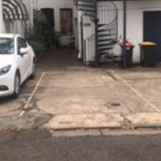 Driveway parking on Burdekin Lane in Surry Hills
