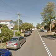 Driveway parking on Cairo Street in Cammeray New South Wales 2062