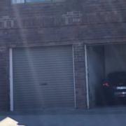 Garage parking on Campbell Parade in Bondi Beach