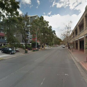 Undercover parking on Campbell St in Parramatta