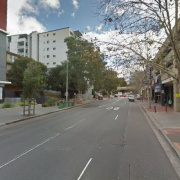 Undercover parking on Campbell Street in Parramatta