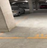Basement parking on