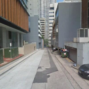Indoor lot parking on Chandos Street in St Leonards