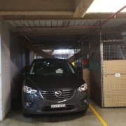 Undercover parking on Charles Street in Parramatta