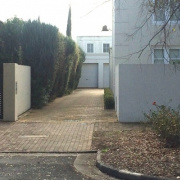 Driveway storage on Childers Street in North Adelaide