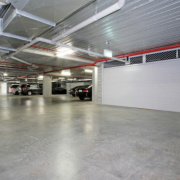 Indoor lot parking on Coranderrk Street in Canberra