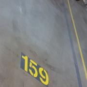 Indoor lot parking on