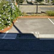 Outdoor lot storage on Cross Street in West Footscray