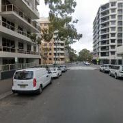 Undercover parking on Danks Street in Waterloo New South Wales 2017