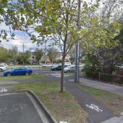 Outdoor lot parking on Dickens Street in Saint Kilda
