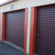 Self-storage Facility storage on