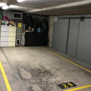 Garage storage on Dowling Street in Woolloomooloo