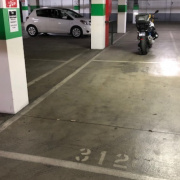 Undercover parking on Drummond St in Carlton
