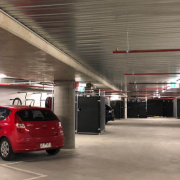 Indoor lot parking on Dryburgh Street in West Melbourne