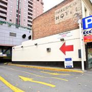 Indoor lot parking on Exhibition Street in Melbourne