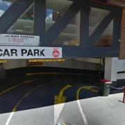Indoor lot parking on Exhibition Street in Melbourne Victoria 3000