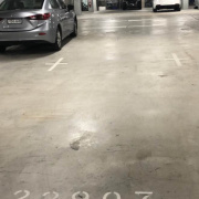 Indoor lot parking on