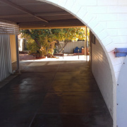 Driveway storage on Fitzpatrick Way in Padbury