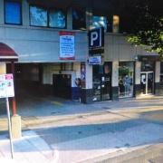 Garage parking on Fitzroy St in St Kilda